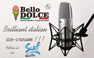 Bello dolce ice cream radio Hua hin surf fm102.5